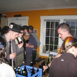 Jesse and Elise Bartending 2010